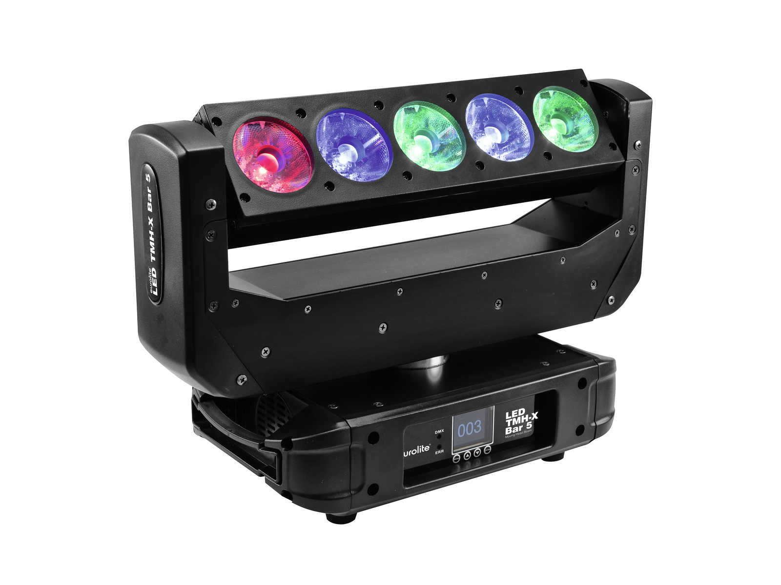 Effetto luce motorizzato BAR 5 LED Moving Head Beam TMH-X 15 W Eurolite