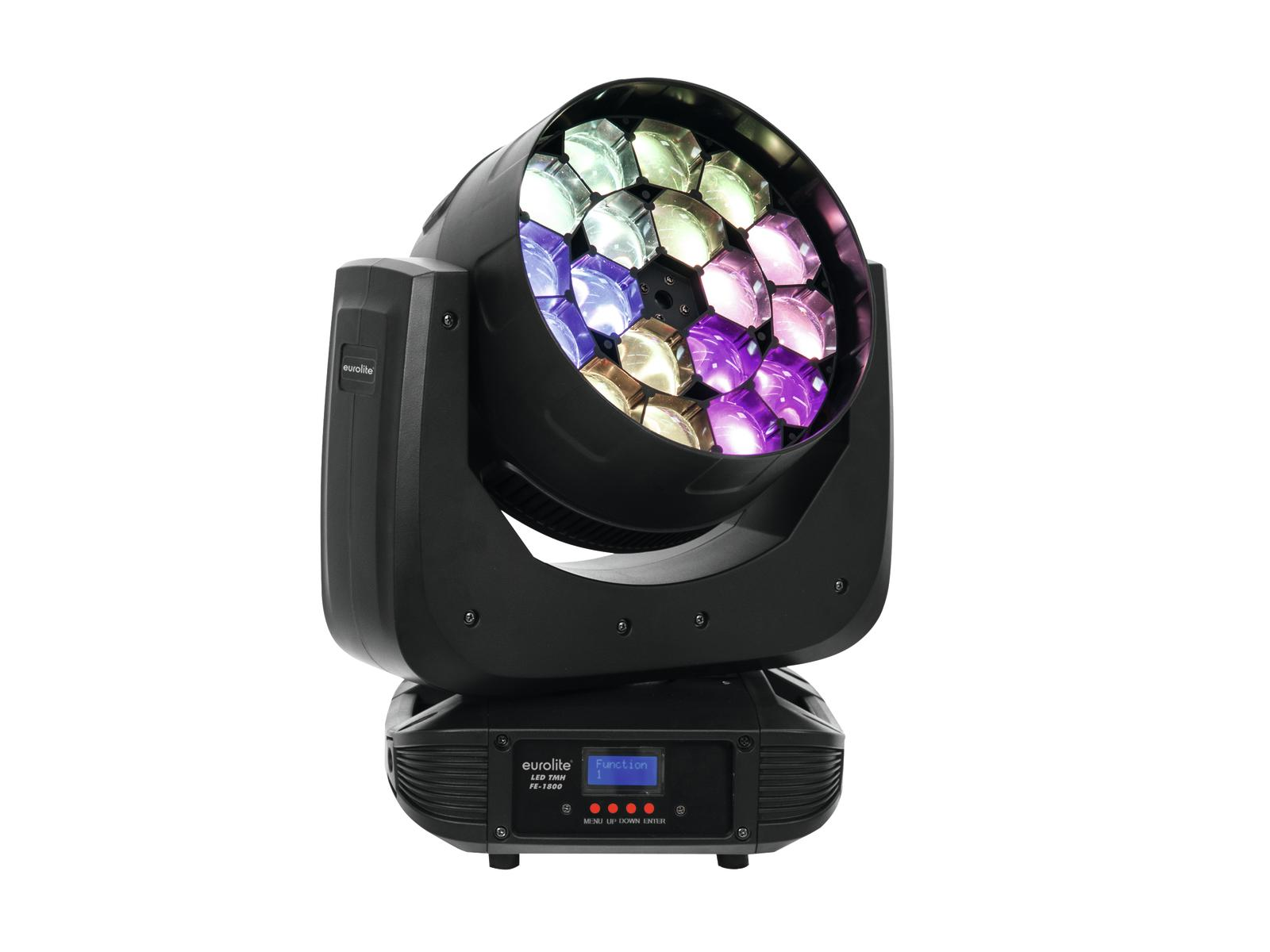 Effetto luce Light testa mobile BEAM Moving Head DMX 512 Eurolite TMH FE-1800