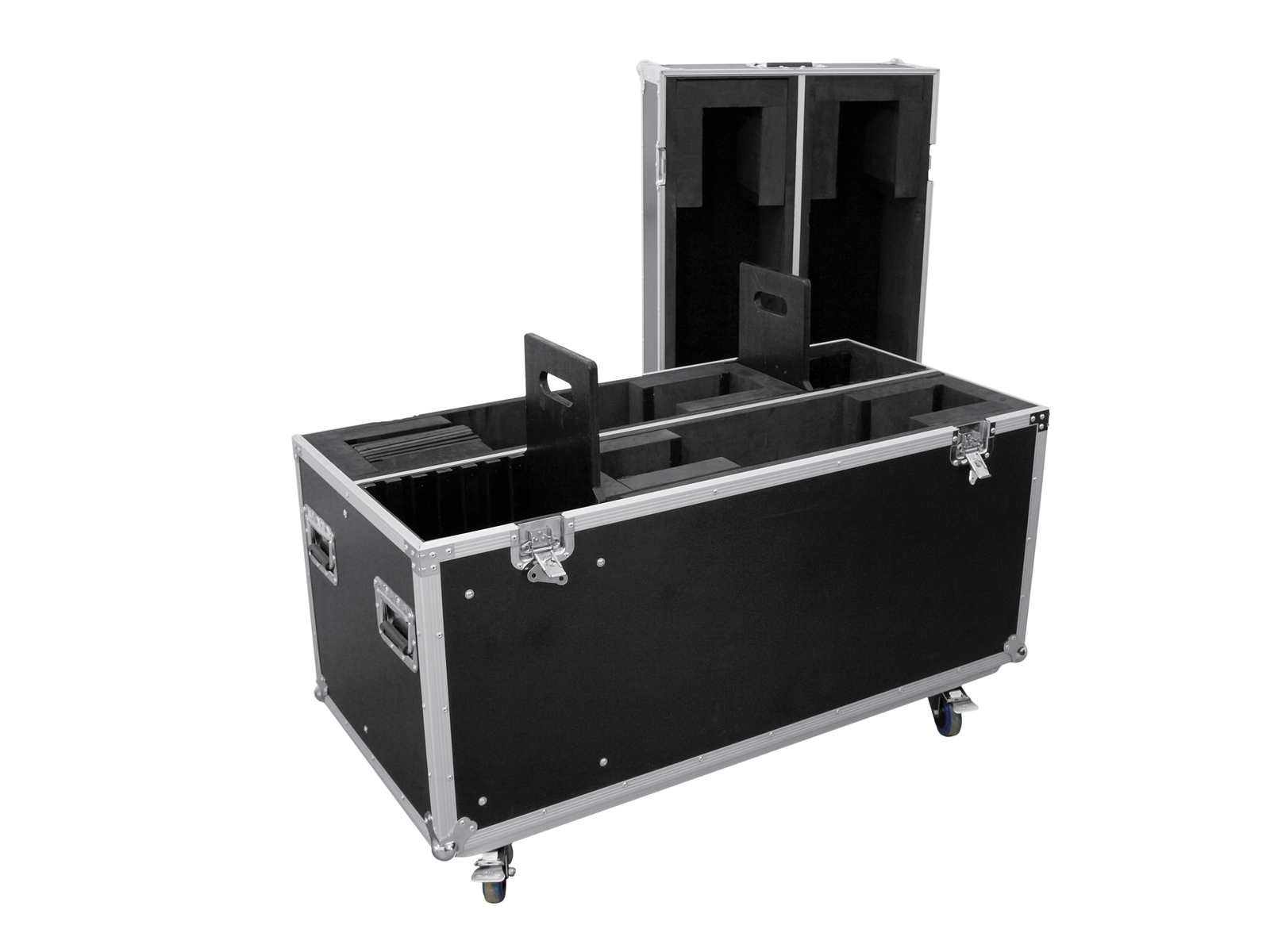 ROADINGER Flightcase 2x LCD ZL32/42
