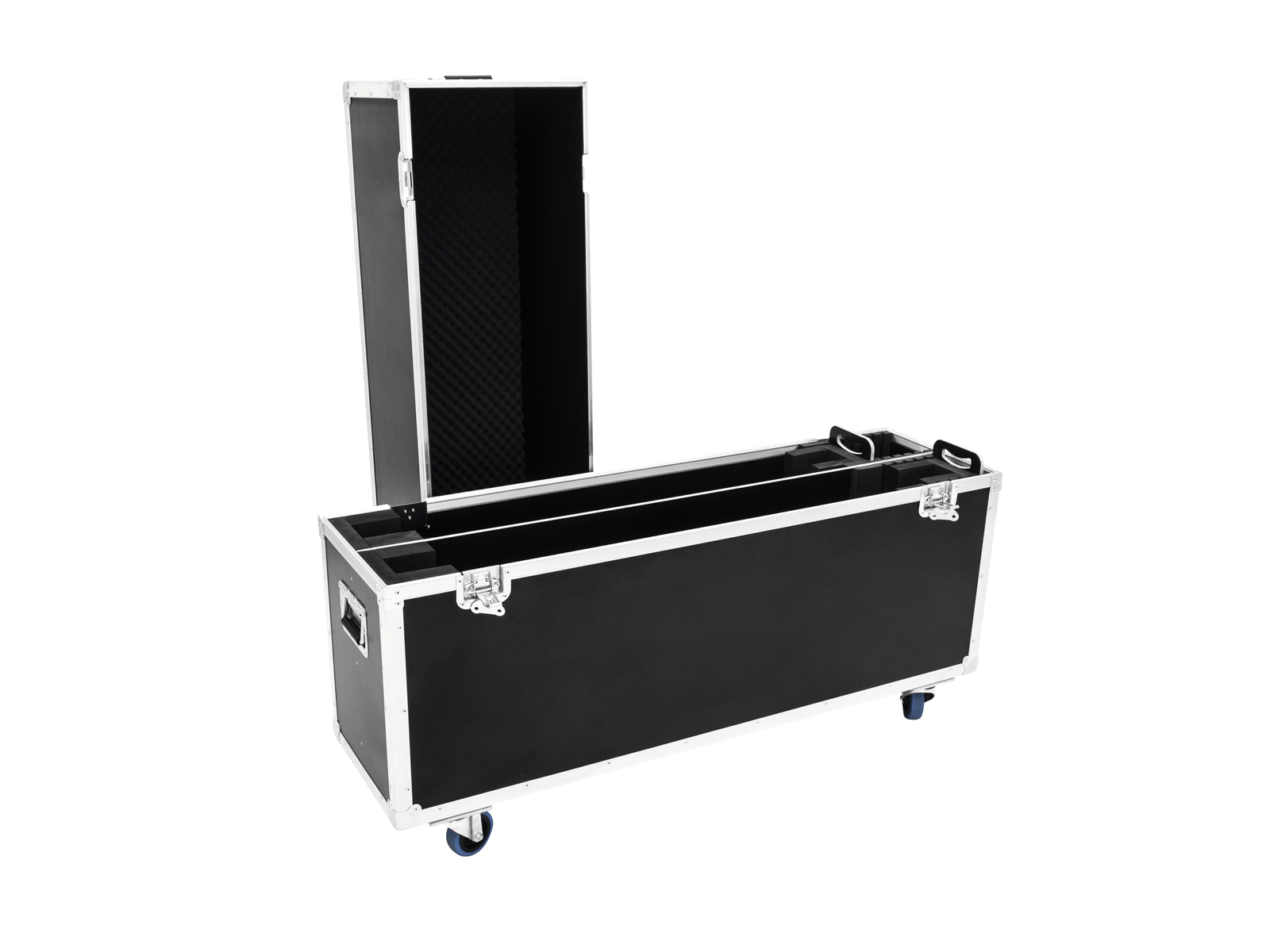 ROADINGER Flightcase 2x LCD ZL