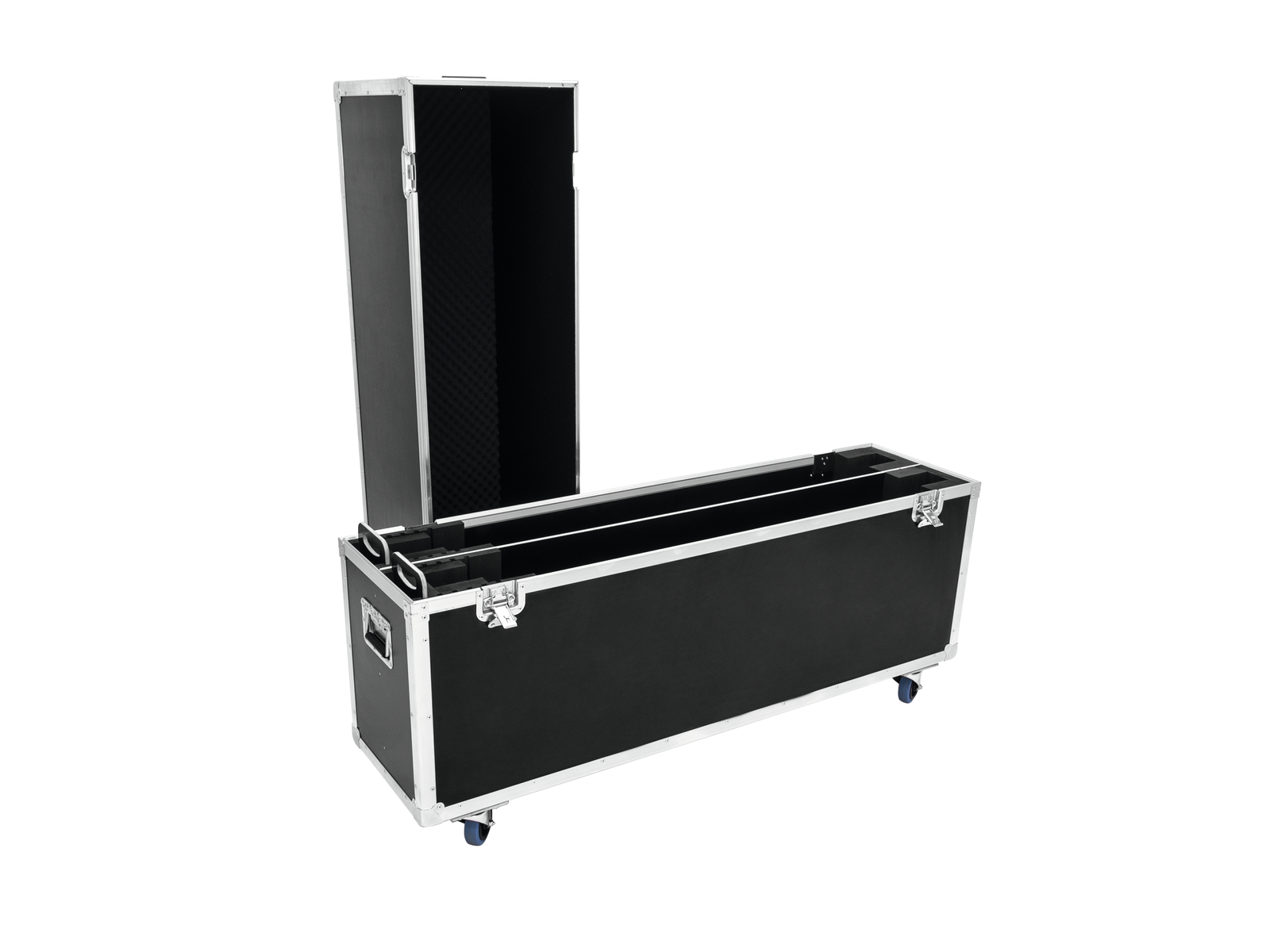 ROADINGER Flightcase 2x LCD ZL60